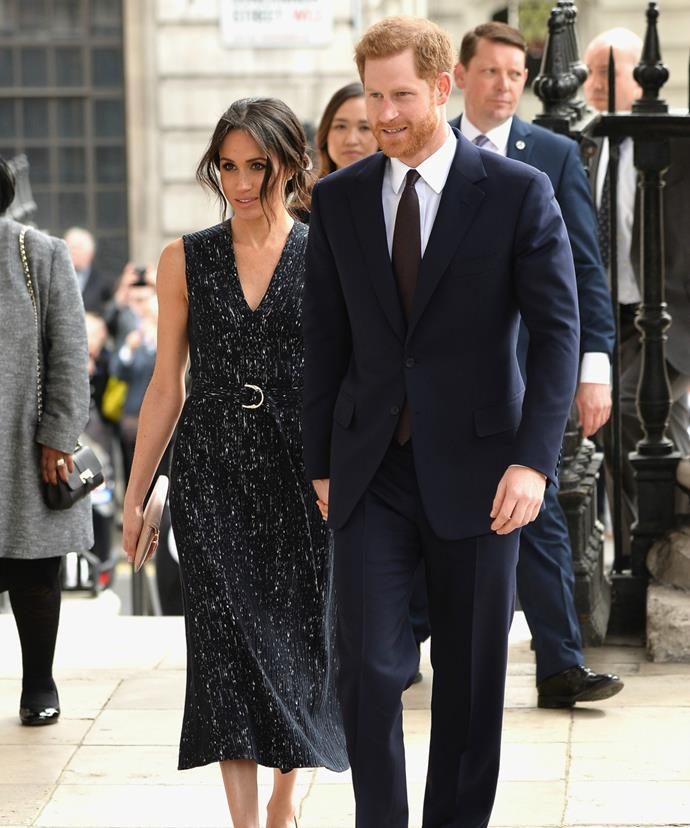 Harry and Meghan will exchange vows at St George's Chapel at Windsor Castle on May 19.