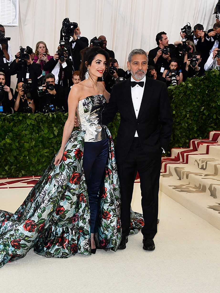 George and Amal Clooney step out for a date night to the most prestigious fashion event of the year.
