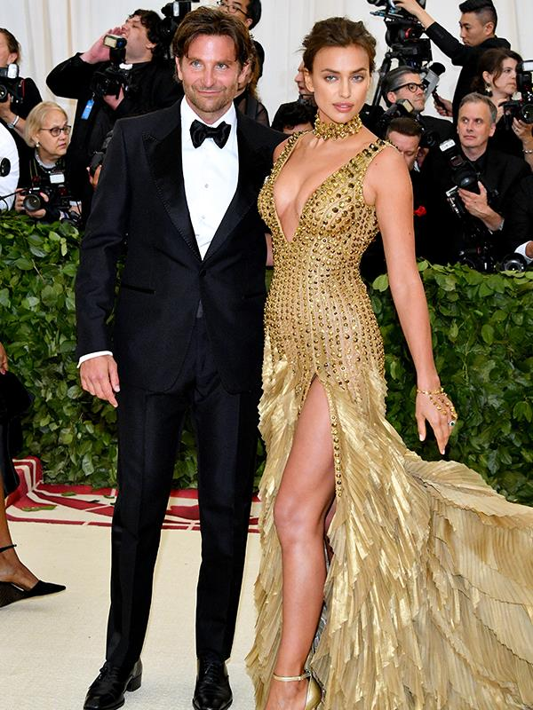 Brad Cooper and Irina Shayk make a rare red carpet appearance together.