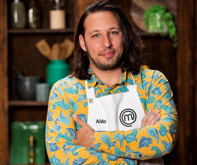 **Aldo Ortado, 31, NSW, Restaurant Manager:**  Born and raised in Bacoli, Italy, Aldo started to cook under the watchful eye of his 'inspiring' Nonna at just 7 years old. When he's not dreaming of owning an Italian restaurant, Aldo enjoys spending time with his fiancé Mark, and their two Australian Labradoodles.