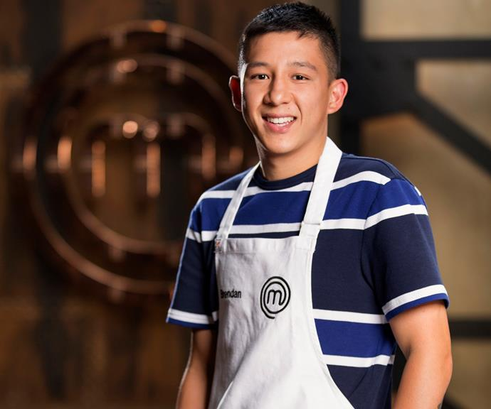 **Brendan Pang, 24, WA, Social Worker:**  Brendan says it was his Grandmere (Grandmother) who inspired him to cook, and taught him how to make delicious wontons and noodles from scratch. He has given up his career and life in Broome for the competition, moving back in with his parents in Perth to pursue his dream of opening a café.
