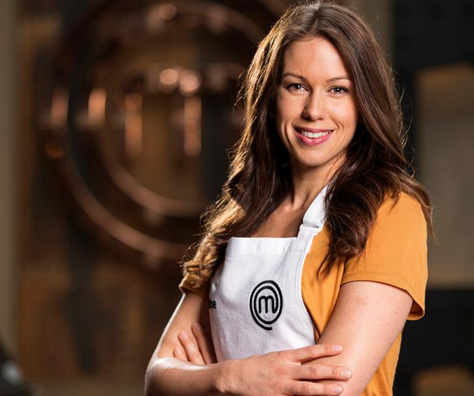 **Chloe Carroll, 28, QLD, Nutritionist:**  Chloe is putting her nutrition consulting business on hold to try her hand at cooking. The mum-of-two and self-described 'foodie' says her killer noodle making skills will be her biggest strength in the competition, though she's worried about nailing the desserts.