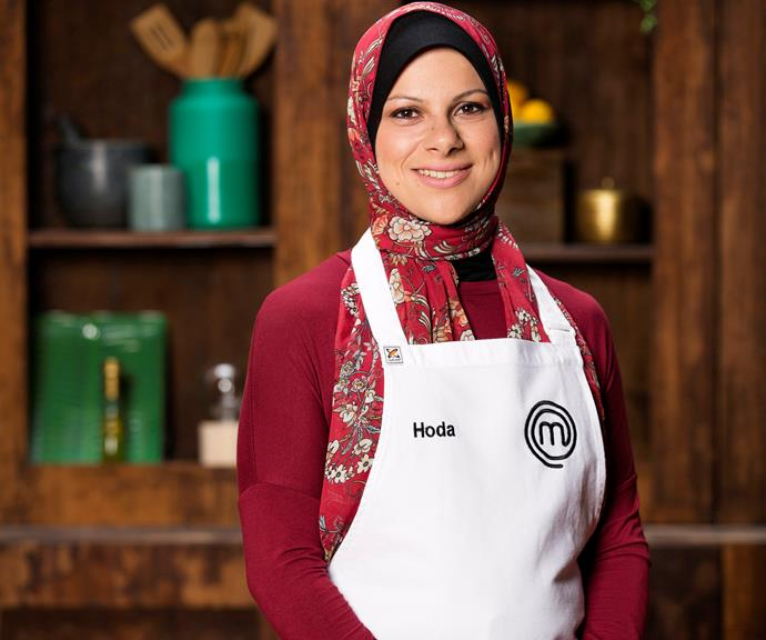 **Hoda Kobeissi, 32, NSW, Social Worker:**  Family expectations once held Hoda back from pursuing her passions, but this is the year she decided to bite the bullet to compete on *MasterChef*. Now armed with her family's full support, Hoda can't wait to share that passion with Australia.