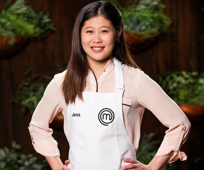 **Jessica Liemantara, 19, VIC, Waitress:**  *MasterChef* is not the first foray into the reality TV realm for 19-year-old Jessica, who once auditioned for *Great Australian Bake Off*. And as the youngest in the competition, Jessica hopes the competition will help make her dreams come true.