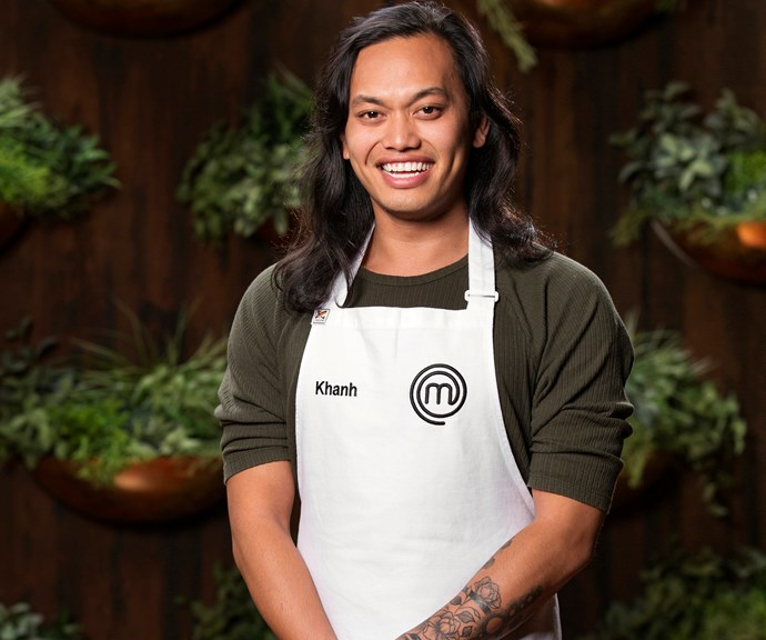 **Khanh Ong, 25, VIC, DJ:**  Working under pressure is no problem for DJ Khanh, who says being able to think on his feet means thrives in high-stress conditions. As for what we can expect from him, Khanh reveals his strength lies in understanding South-East Asian flavours.
