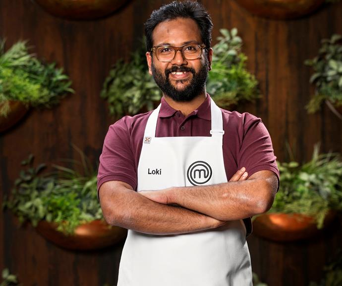 **Loki Madireddi, 34, VIC, Stay-At-Home-Dad:**  It was his stepson, Indy, who drove him to apply for *MasterChef* but a passion for food has been a big part of Loki's life from a young age. Loki hopes winning will help him to bring the best of his beloved Indian street food to Australia.