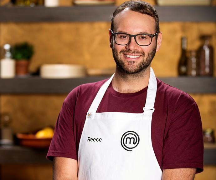 **Reece Hignell, 28, NSW, Recruitment Consultant:**  Quitting his job to focus on a career in food was a big change for Reece. Having had a passion for food since the age of 12, the 28-year-old says he has finally found the confidence to pursue this exciting new career and says *MasterChef* is the first of many steps to get him there.