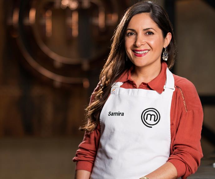 **Samira Damirova, 36, WA, Stay-At-Home Mum:**  Making the jump from teen popstar to professional chef is stay-at-home-mum Samira. The Azerbaijan native hopes her time on *MasterChef* will help to bring the cuisine to the forefront of Australian eating and believes her creativity will give her an edge over the competition.