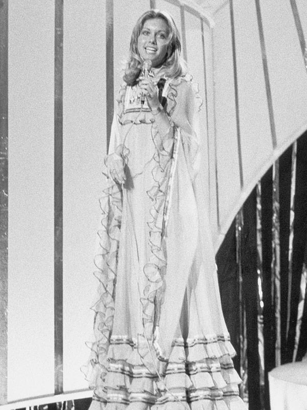 Olivia at Eurovision.