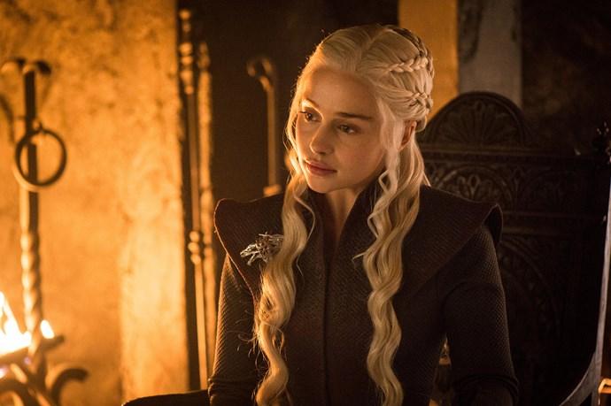 Emilia stars as Daenerys Targaryen in *Game of Thrones.*