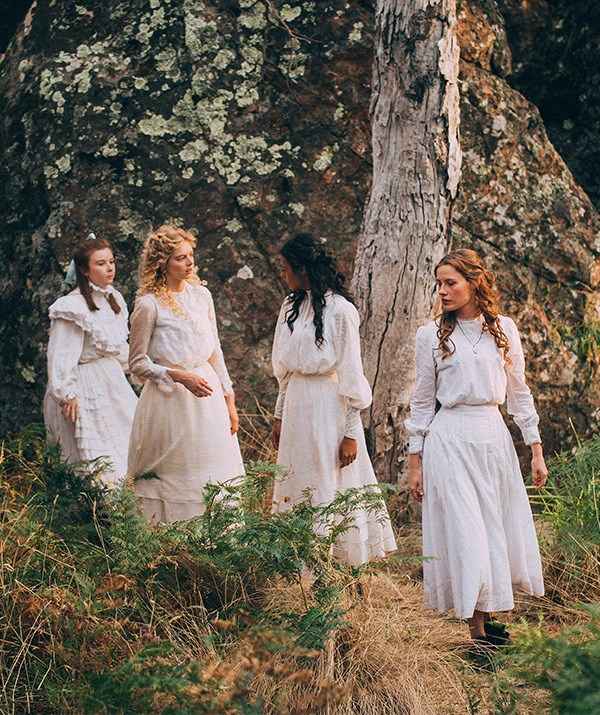 The Picnic at Hanging Rock cast includes actresses Natalie Dormer, Yael Stone and Samara Weaving.