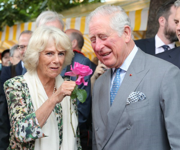 Charles, 69, and Camilla, 70, opened up about the impending nuptials while visiting a flower market in Nice, France.