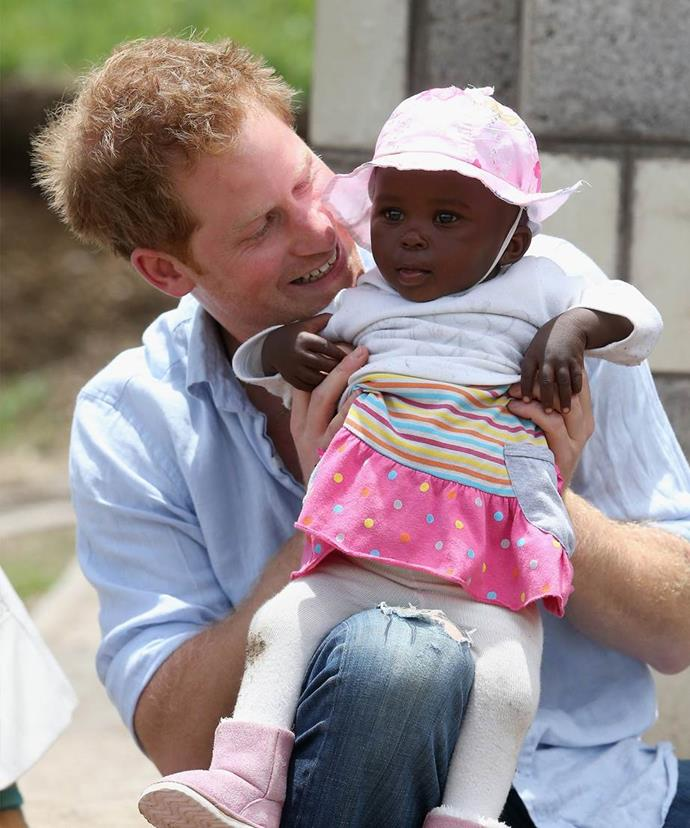 After a dark chapter, Prince Harry realised he wanted to settle down.