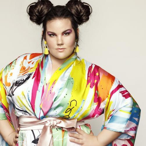 Netta of Israel won the 2018 *Eurovision Song Contest.*