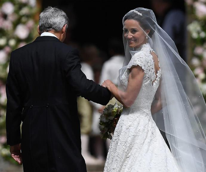 Pippa didn't land an invite to the party at Frogmore House either.