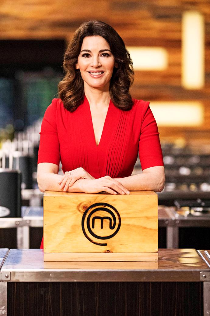 Nigella reveals she's just 'not the kind of person' who would compete on *MasterChef Australia.*