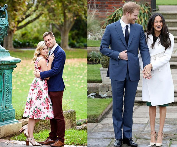 One loved-up couple are getting plenty of flak about their royal names... Harry & Meghan!