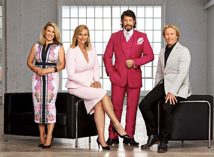 From left to right: *House Rules* Wendy Moore, host Johanna Griggs, Laurence, and Drew Heath.