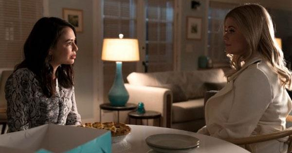 Sasha and Janel appear in the new trailer for *The Perfectionists.*
