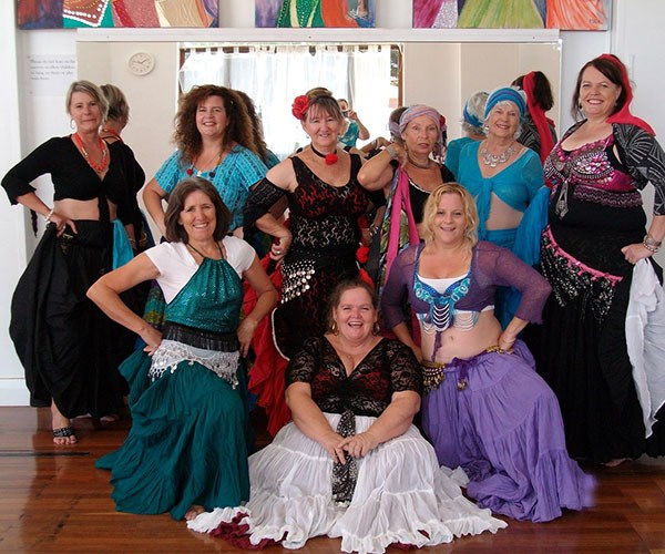 I'm thrilled so many people get to enjoy belly dancing.