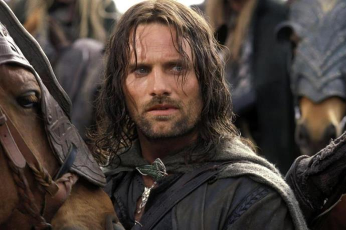 Viggo broke hearts around the globe while starring as Aragorn in the *Lord of the Rings* trilogy.