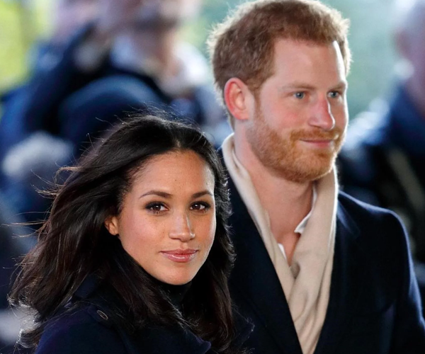 Why hello Duke and Duchess of Sussex!