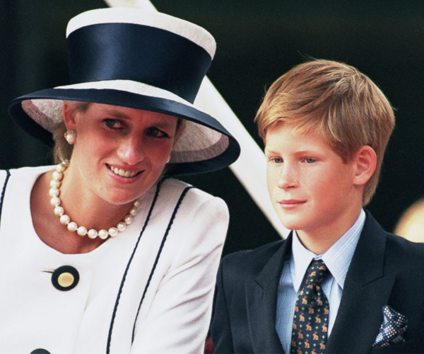 """Diana was given the title of """"Princess"""" as a courtesy."""