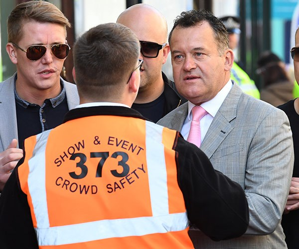 Princess Diana's former butler Paul Burrell isn't invited to the ceremony but that hasn't stopped him showing up.