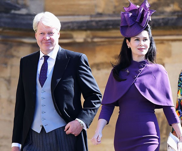Charles with his wife Karen.