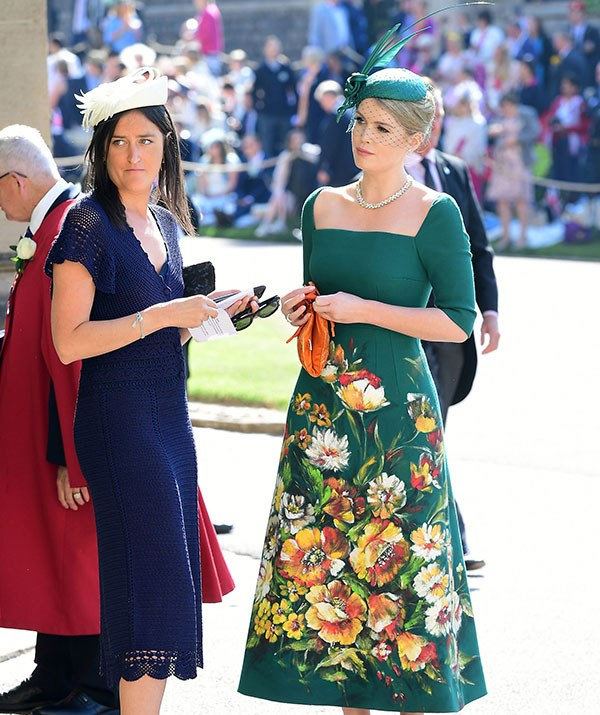 Kitty at her cousin Prince Harry's wedding to Meghan Markle in May 2018. *(Image: Getty)*