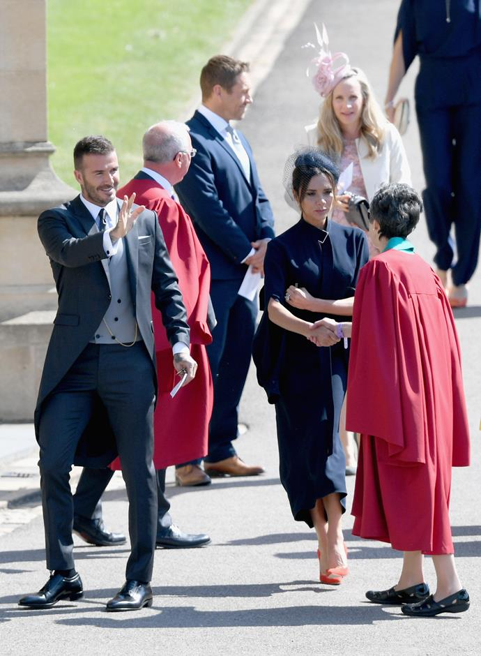 Victoria being greeted at Windsor Castle