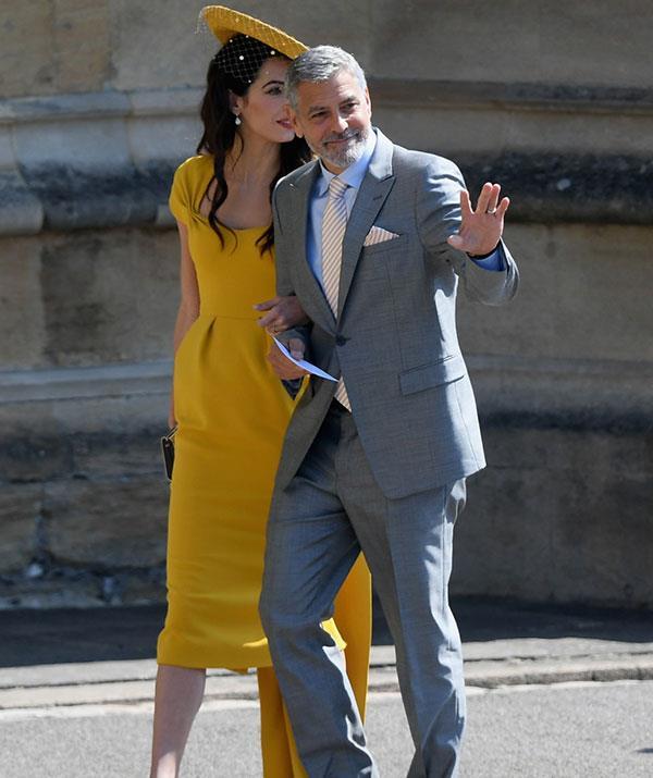 Amal is the celebrity sun!
