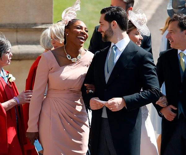 Serena and her husband Alexis Ohanian attended Harry and Meghan's wedding day.