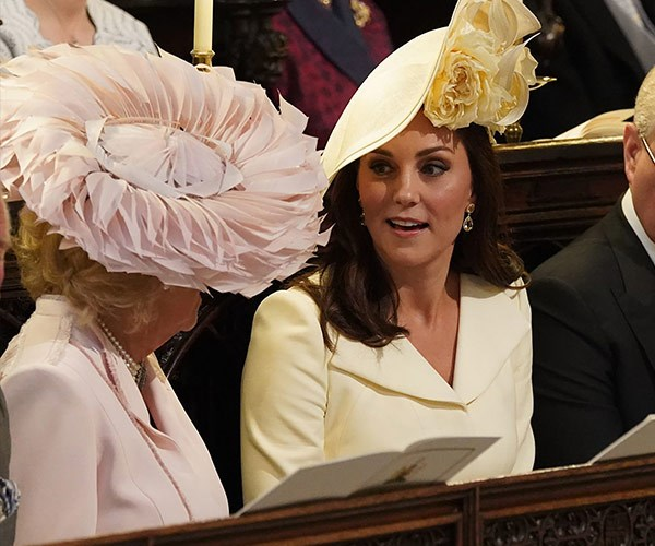 Kate's face during the service is adorable!