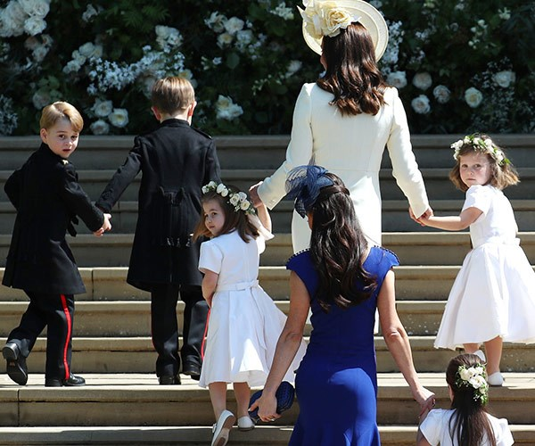 Prince George is getting so tall!