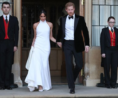Inside Prince Harry & Meghan Markle's lavish royal wedding reception
