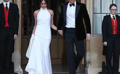 Inside Prince Harry & Meghan Markle's lavish royal wedding reception