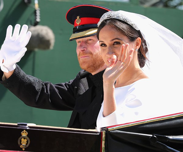 Harry and Meghan are now the Duke and Duchess of Sussex.