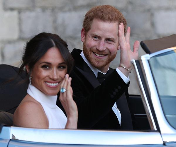 And thankfully, some of Meghan's A-Lister pals have broken royal protocol!