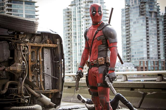 Ryan Reynolds is back as the irreverent red-suited rogue 'Deadpool.'