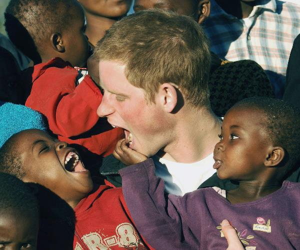 The incredible photos taken during the trip are some of the most widely recognised shots of the beloved royal.