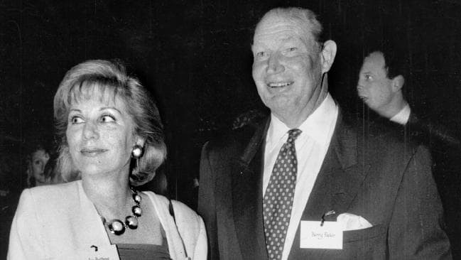 Ita Buttrose with close friend Kerry Packer at the 20th anniversary of *Cleo* magazine in 1992.