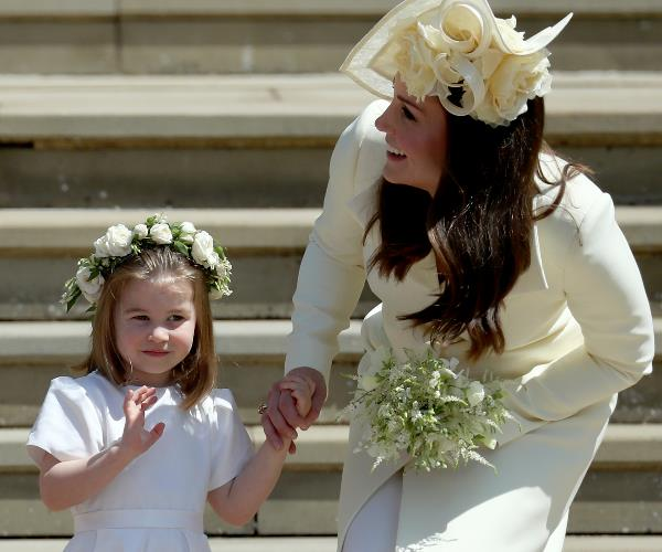 Duchess Catherine made a stunning appearance at the royal wedding over the weekend.