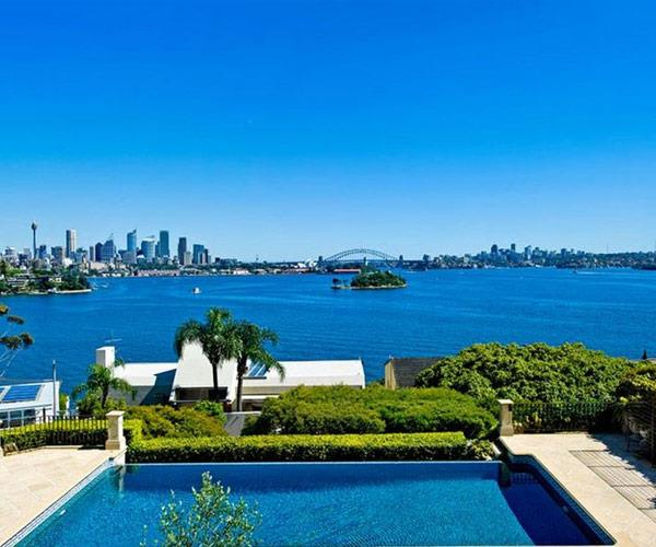 Located in Point Piper.