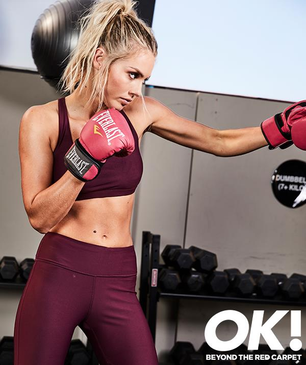 Elyse Knowles loves working out first thing in the morning. 'Pretty much that is at the top of my list,' she tells OK!.