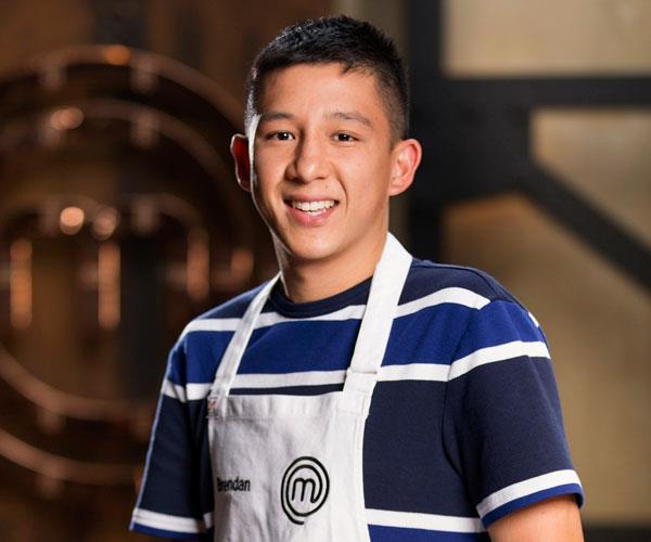 Brendan suffered a 'horrifying' injury in tonight's episode of *MasterChef Australia.*