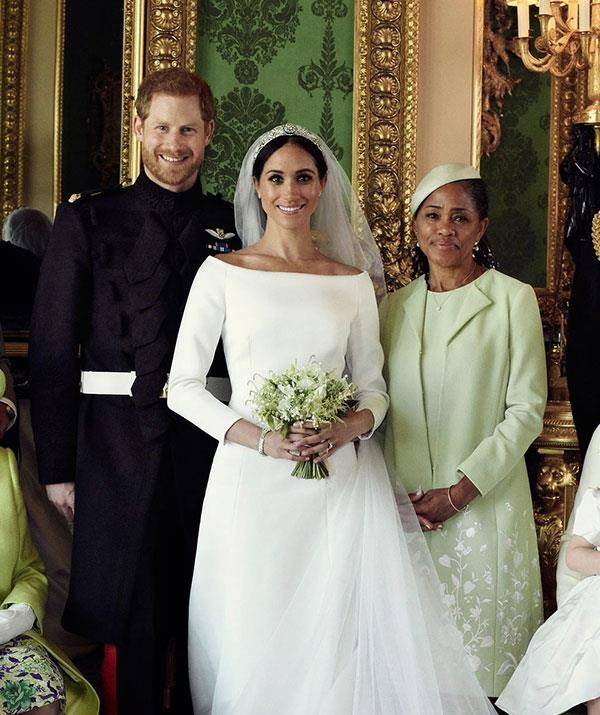 Welcome to the family! Doria will be invited to important royal events.