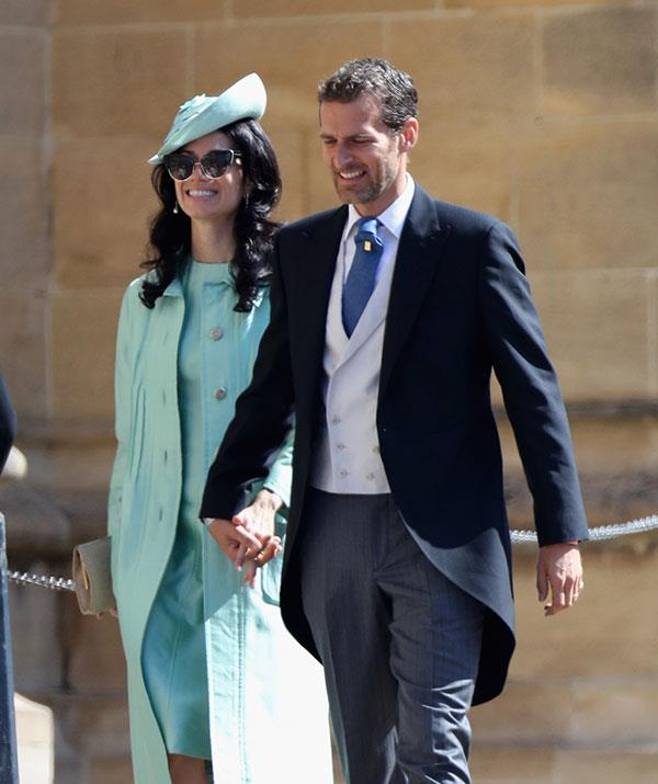 Alexi, pictured at Meghan and Harry's wedding with his wife Giada Lubomirski, was tracked down by the royals all thanks to Instagram!
