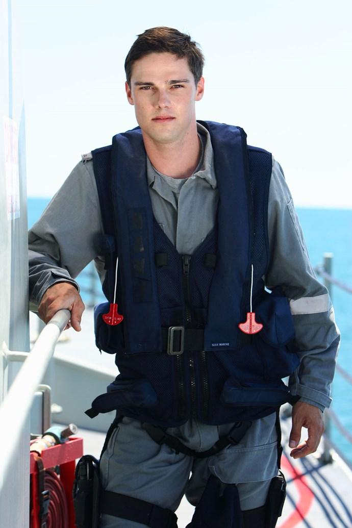 Jay starred as 'Spider' in *Sea Patrol.*