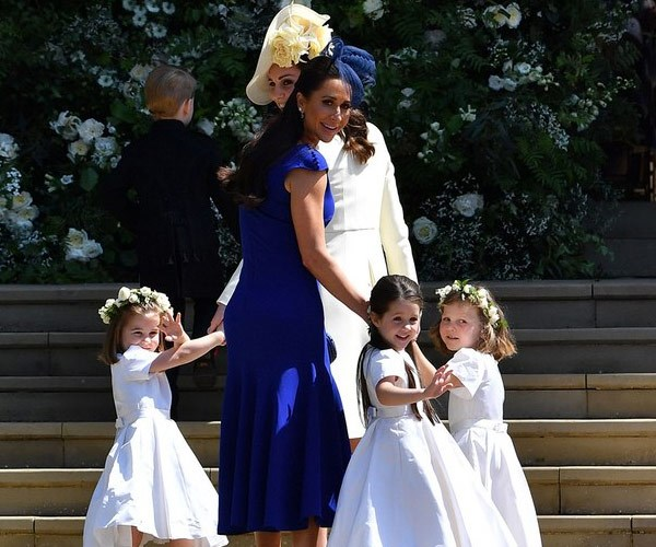 The royal was one of six bridesmaids.